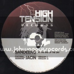 "High Tension Records-12""-At The End Of The Day / Sandeeno (Jacin)"