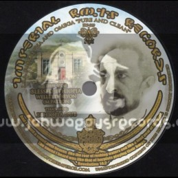 """Imperial Roots Records-7""""-Blessed Ethiopia / Wellette Seyon (Alpha & Omega)"""