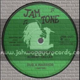 "Jam Tone-12""-Man A Warrior / Robert Dallas + Rastaman In Control / Sun I Taffari"