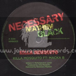Necessary Mayhem Black-12-Killa Mosquito / Killa Mosquito Ft. Macka B