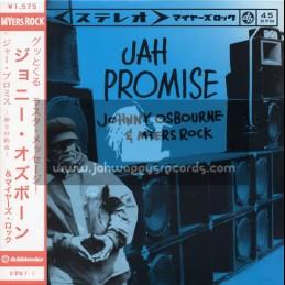 """Myers Rock-7""""-Jah Promise / Johnny Osbourne"""