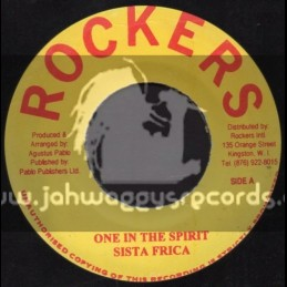 """Rockers-7""""-One In The Spirit / Sista Frica"""