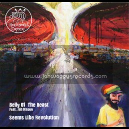 """Irie Ites Music-7""""-Belly Of The Beast / Jah Mason + Seems Like A Revolution"""