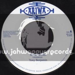 "Ariwa-7""-Africa Is Zion / Tony Benjamin"
