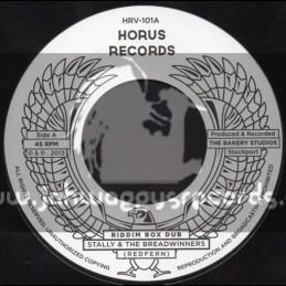 "Horus Records-7""-Riddim Box Dub / Stally & The Breadwinners"