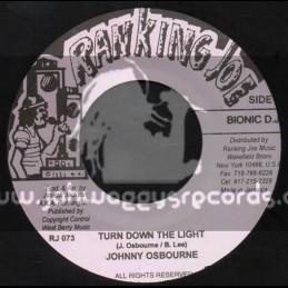 "Ranking Joe Records-7""-Turn Down The Light / Johnny Osbourne"