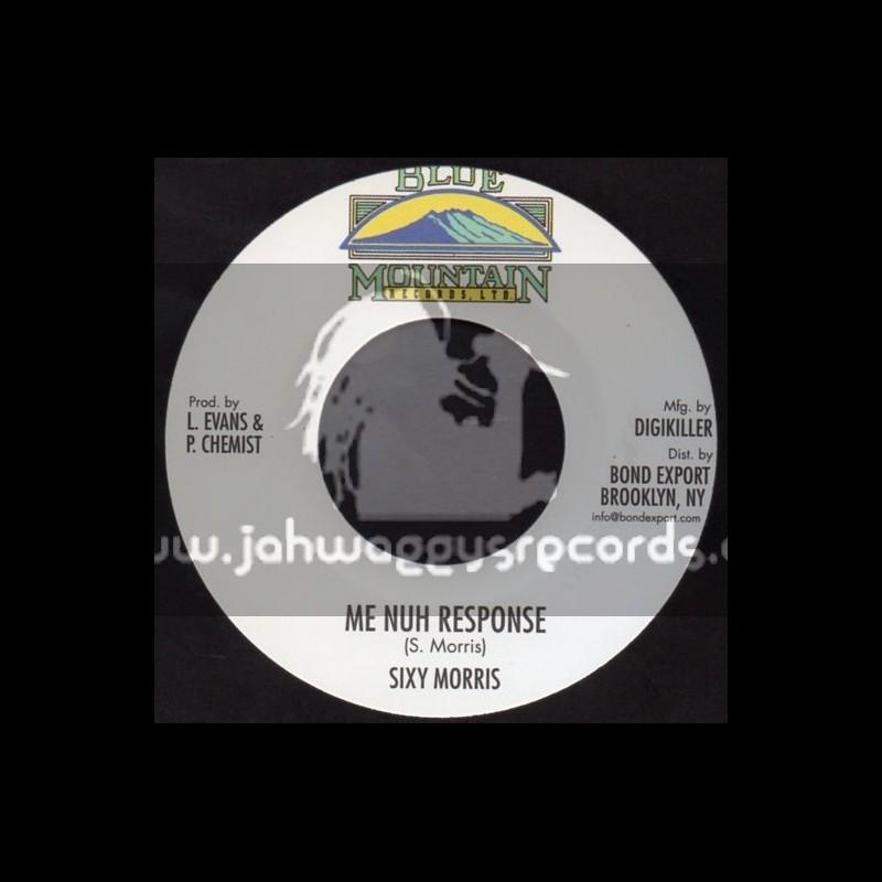"Blue Mountain Records-7""-Me Nuh Response / Sixty Morris"