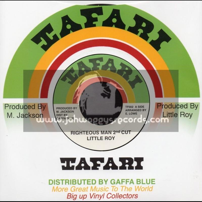 "Tafari-7""-Righteous Man 2nd Cut / Little Roy"