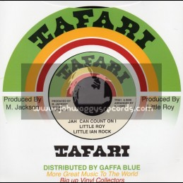 "Tafari-7""-Jah Can Count On I / Little Roy"