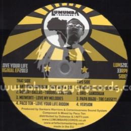 """Lumumba Records-12""""-Digikal Ep-Love Your Life Riddim / Various Artists"""