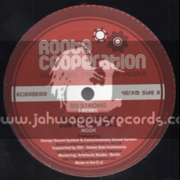"""Roots Cooperation-12""""-So Strong / I Rebel + Jahoviah / Sister Aude"""