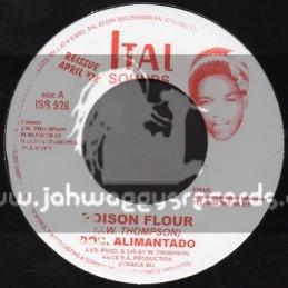 """Ital Sounds-7""""-Poison Flour + I Shall Fear No Evil / Doc Alimantado"""