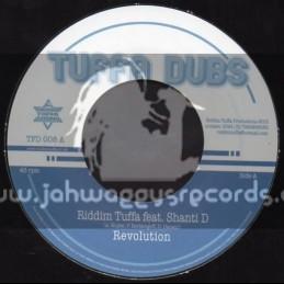 """Tuffa Dubs-7""""-Revolution / Riddim Tuffa Feat. Shanti D"""