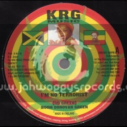 "KRG Music-7""-I m No Terrorist / Boom Donovan Green"