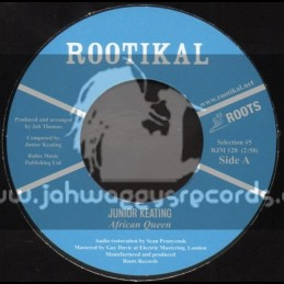 """Rootikal-7""""-African Queen / Junior Keating"""