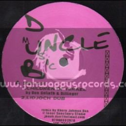"Uncle Dub Music-12""-Children Of Isreal / Don Goliath & Dillinger"