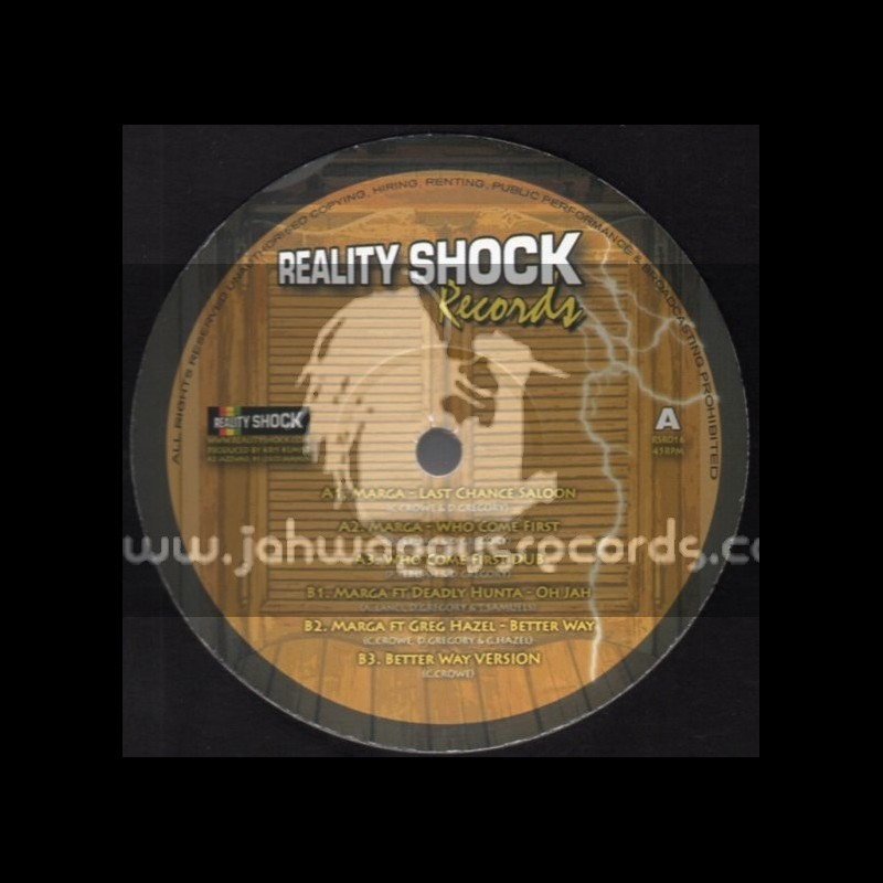 "Reality Shock Records-12""-Last Chance Saloon / Marga"