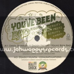 "Reality Shock Records-12""-You ve Been Bad Riddim / Reality Shock Meets Reality Chant"