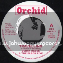 "Orchid-7""-Travelling / Debra Keese & The Black Five Star"
