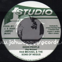 "Studio 1-7""-Good People / Ras Michael & The Sons Of Negus"