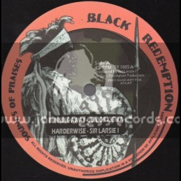 "Black Redemption-10""-Running Away / Junior Kigwa + Peace And Harmony Dubwise / Sir Larsie I"