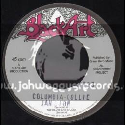 "Black Art-7""-Columbia Collie + Dread Ina Jamdong / Jah Lion"
