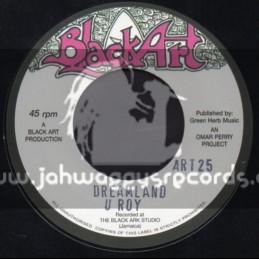"""Black Art-7""""-Dreamland / U Roy + Moving On / Big Youth"""