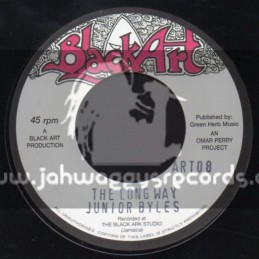 "Black Art-7""-The Long Way / Junior Byles"