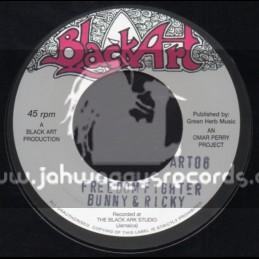 "Black Art-7""-Freedom Fighter / Bunny & Ricky"
