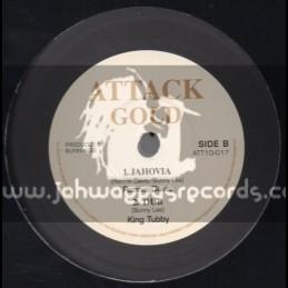 "Attack Gold-10""-Jahovia + Every Rasta Is A Star / Ronnie Davis"
