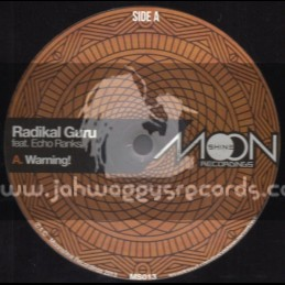 "Moonshine Recordings-12""-Warning / Echo Ranks / Radikal Guru, Violin Boy, Dubkasm"