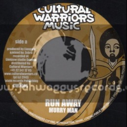 "Cultural Warriors Music-7""-Run Away / Murry Man / Cant Conquer Me / Paul Elliot"