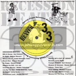 """Recession Beater-7""""-On Guard / Leroy Mafia + They Keep Crying / Peter Spence"""