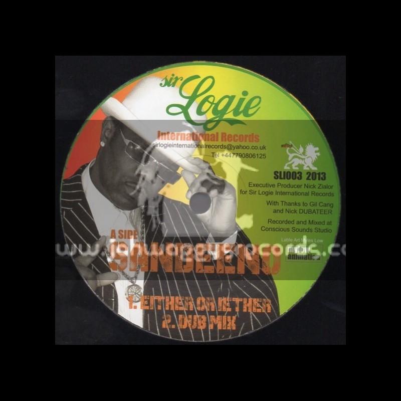 "Sir Logie International Records-10""-Either Or Iether + Champion Sound / Sandeeno"
