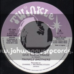 "Twinkle-7""-Give Rasta Praise / Twinkle Brothers"