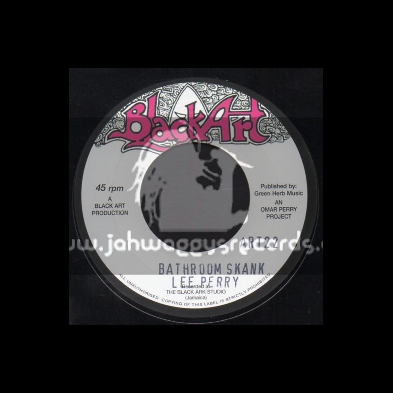 "Black Art-7""-Bathroom Skank / Lee Perry"