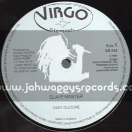 """Virgo Stomach-12""""-Slave Master + Poor Man Dream / Dady Culture"""
