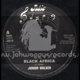 "Jusic International-7""-Black Africa / Junior Walker"