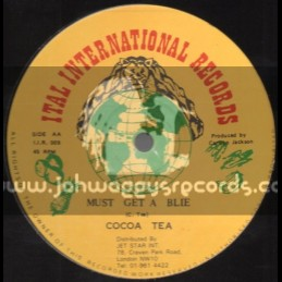 "Ital International Records-12""Must Get A Blie + Roll River Jordan / Cocoa Tea"