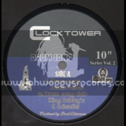"Clock Tower-10""Drum Song / Jackie Mitoo & King Tubbys - Dub Series Vol 2"