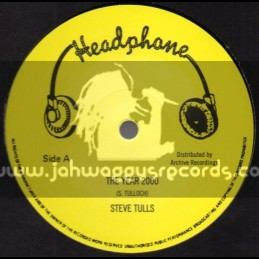 "Headphone-12""-The Year 2000 / Steve Tulls"