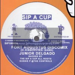 """Sip A Cup Records-10""""-Fort Augustus / Junior Delgado"""