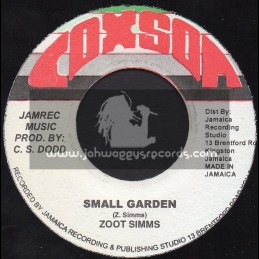 "Coxone-7""-Small Garden / Zoot Simms"