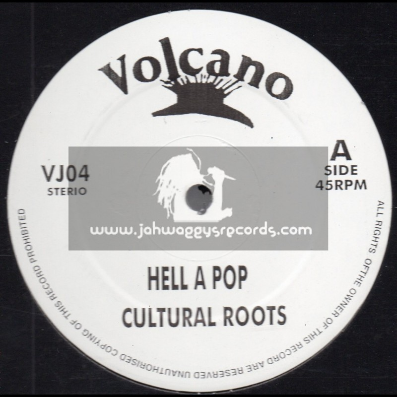 "Volcano-12""-Hell A Pop / Cultural Roots + Follow Fashion / Sammy Dread Feat. Danny Dread"