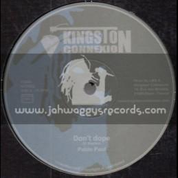 "Kingston Connexion-12""-Dont Dope / Pablo Paul + Happy Home / Ras Henry"
