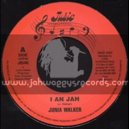 """Jusic International-7""""-I An Jah / Junia Walker"""