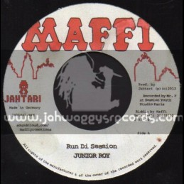 "Maffi-7""-Run Di Session / Junior Roy + Talking Yardie / Lord Sassafrass"