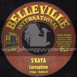 "Belleville International-7""-Corruption / S Kaya"
