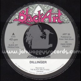 "Black Art-7""-John Devour / Dillinger + A Place In The Sun / David Isaacs"