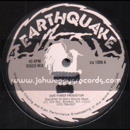 "Earthquake-12""-Mix Up / George Wright & The Ovation"